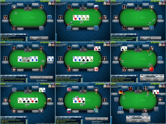 Poker online tavoli bis