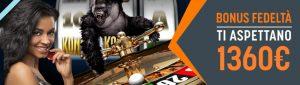 SNAI Casino Bonus slot machine gratis
