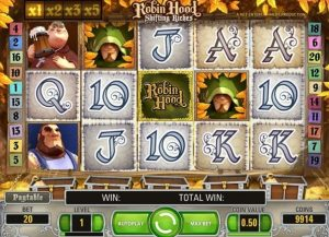 Robin Hood Shifting Riches come giocare