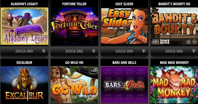 Casino on line legale