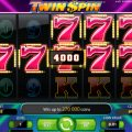 Twin Spin slot machine: come giocare