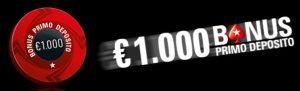PokerStars Spin 2X Bonus 1000€