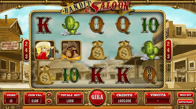 Spiele Bandit Saloon - Video Slots Online