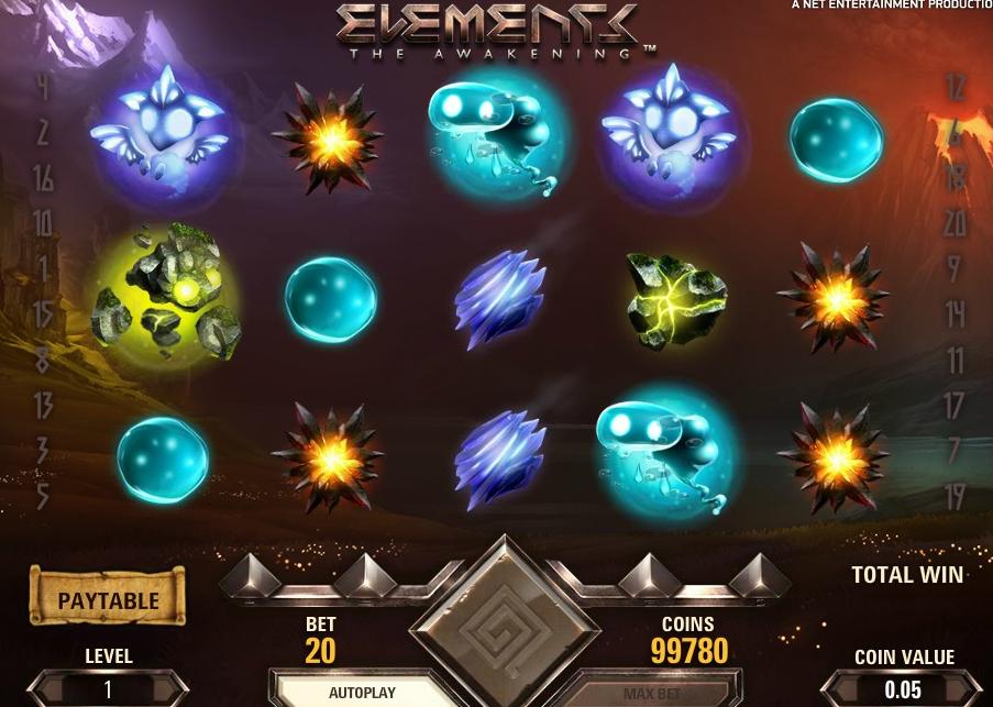 BetNero slot Elements The Awakening