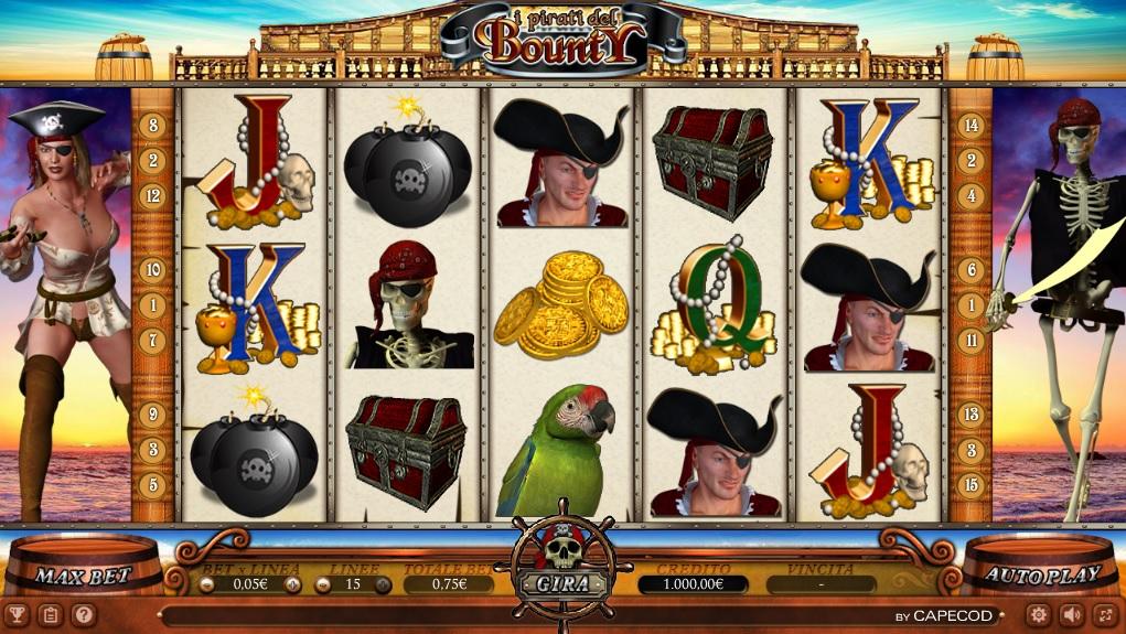 Gioco pirati online