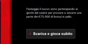 PokerStars Casino Bonus Classifica Capodanno €75.000
