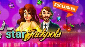 StarCasinò presenta slot StarJackpots da 100.000€!