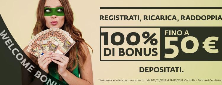 Bonus scommesse 50€ Betaland: come ottenerlo